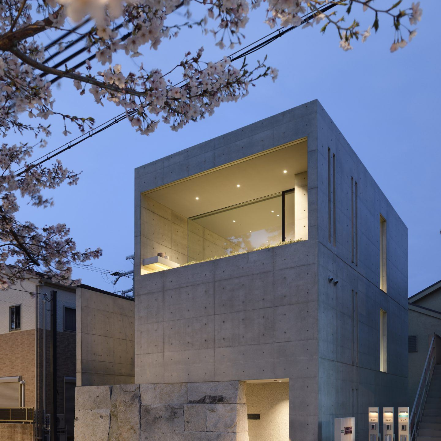The Contemporary Brutalist Home And Office Of Japanese Architect Go Fujita  - IGNANT