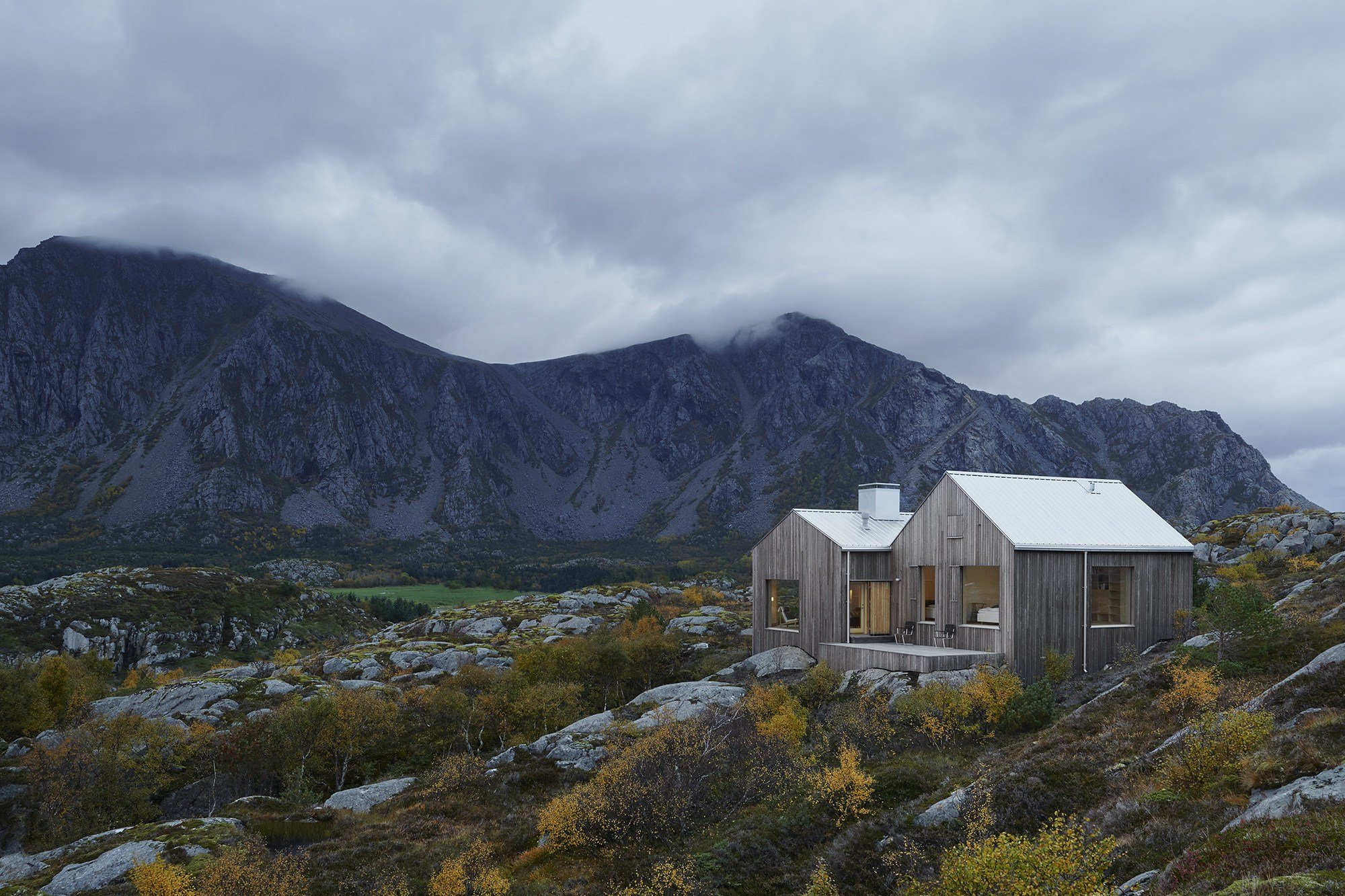 Kolman Boye's Contemporary Naust Is Situated On A Remote Island In The Norwegian...