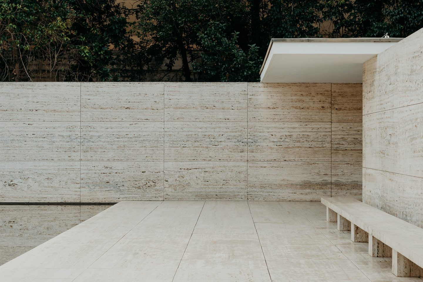 The Barcelona Pavilion By Ludwig Mies Van Der Rohe Is A ...