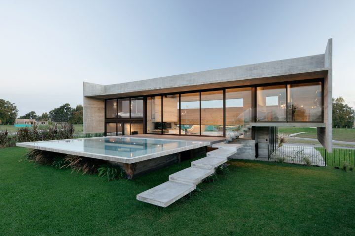 Luciano Kruk Completes Modernist-Inspired Escobar House In Argentina