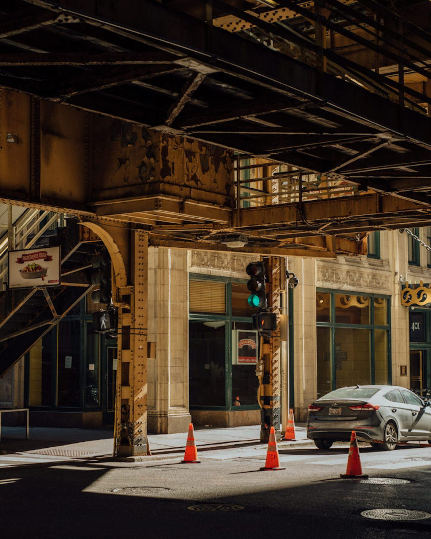 Chicago Elevated Tracks