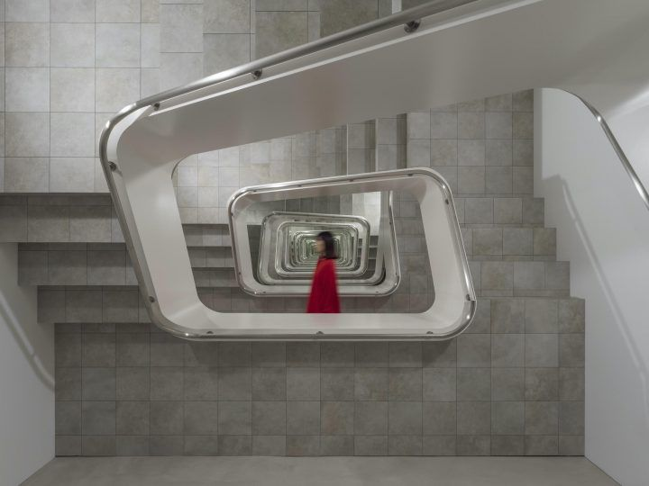 An Illusory, Infinite Staircase In Japan By Argentinian Artist Leandro Erlich