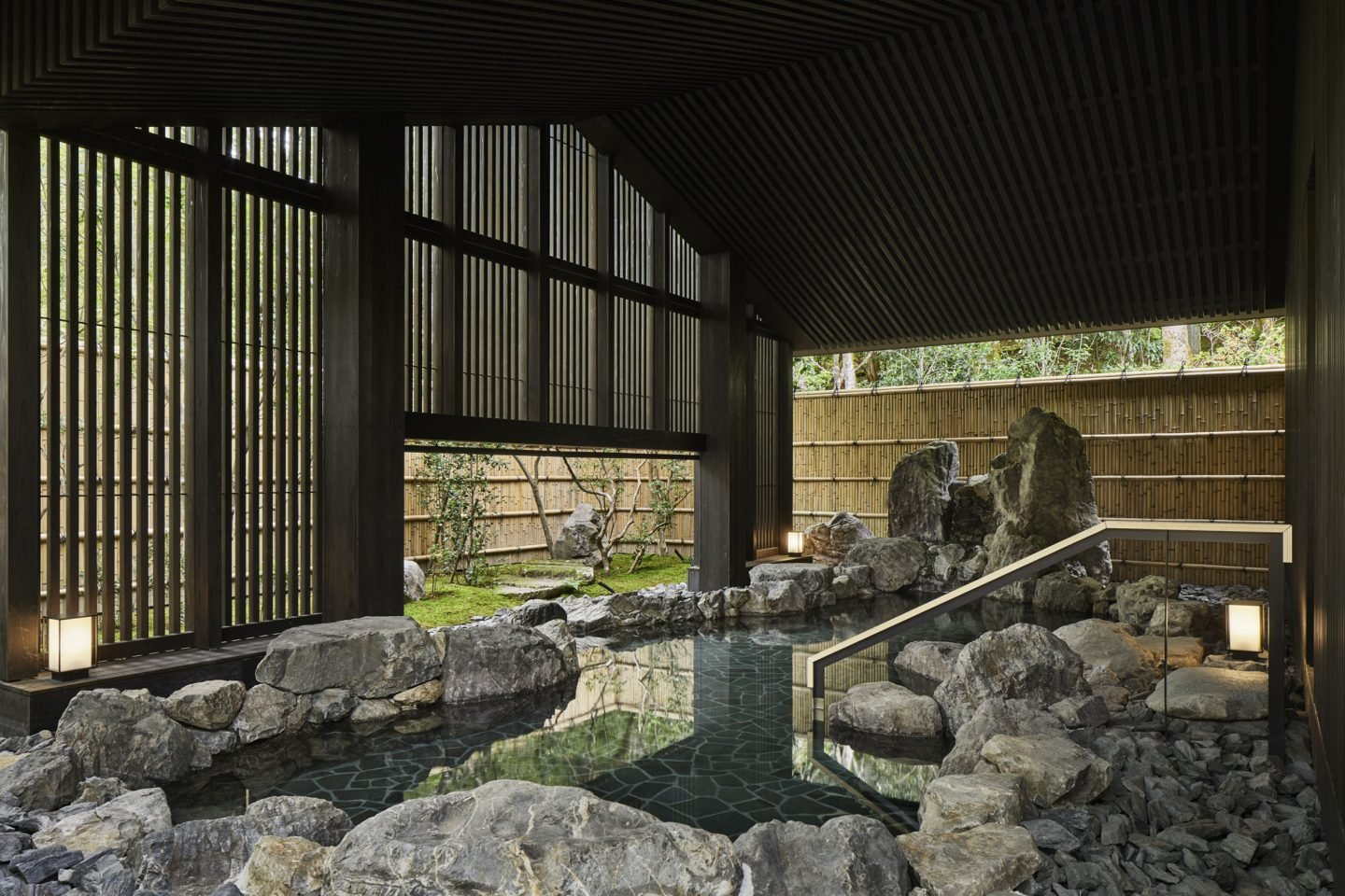 Aman Kyoto, Japan - Aman Spa Outside Onsen