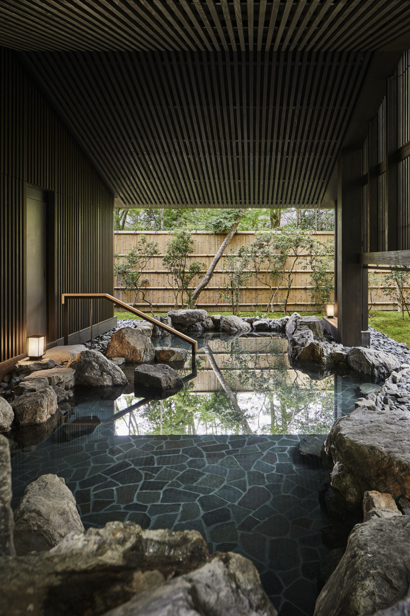 Aman Kyoto, Japan - Aman Spa - Outdoor Onsen