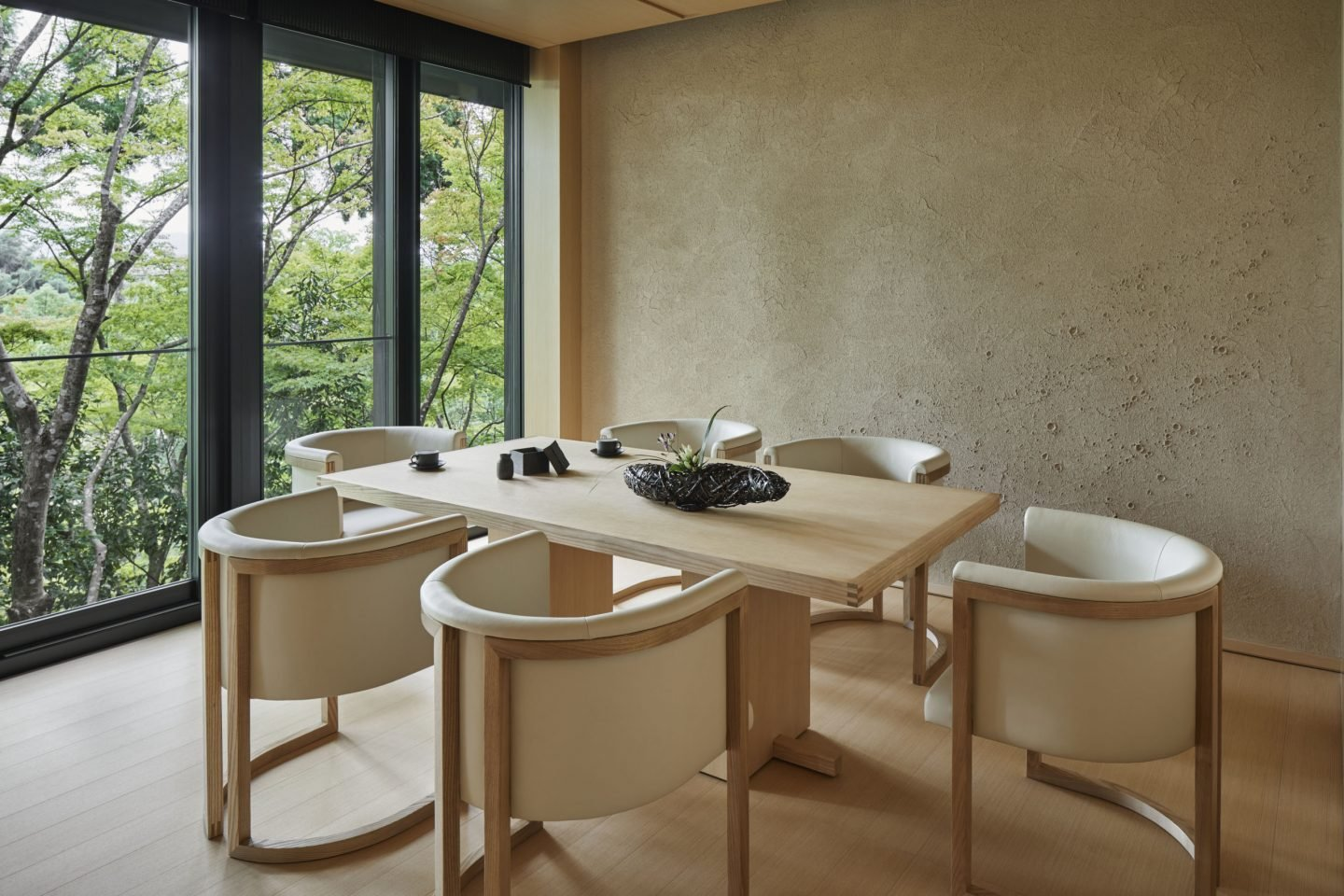 Aman Kyoto, Japan - Washigamine Pavilion Dining Room