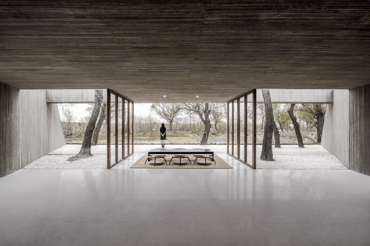 In A Rural Forest In Hebei, Archstudio's Modern Buddist Shrine Stands Out From Its Surroundings
