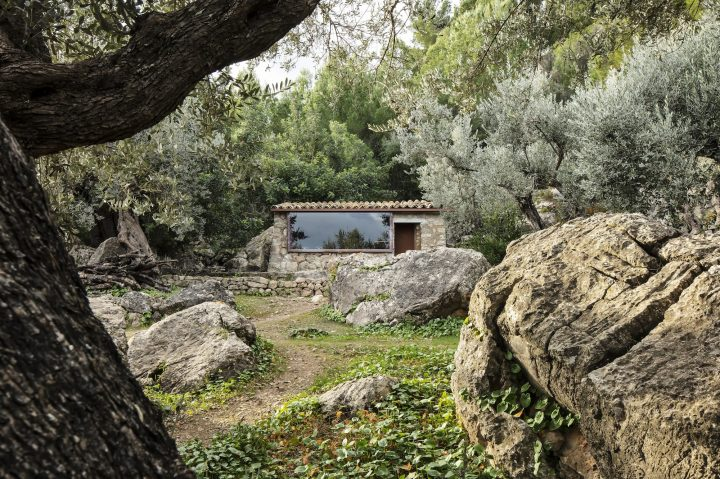 Mar Plus Ask Designs Two Hidden Retreats Surrounded By Olive Trees In Mallorca's Mountains