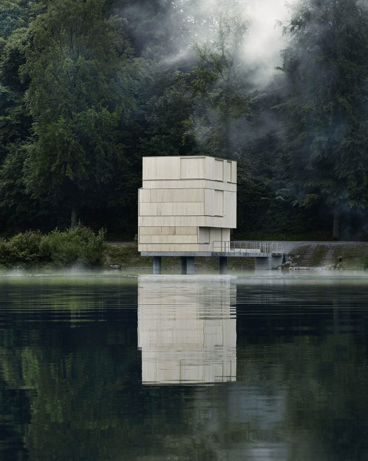 AFGH Architekten Finds Balance Between Practicality And Sculptural Aesthetics With Lake Rotsee Refuge