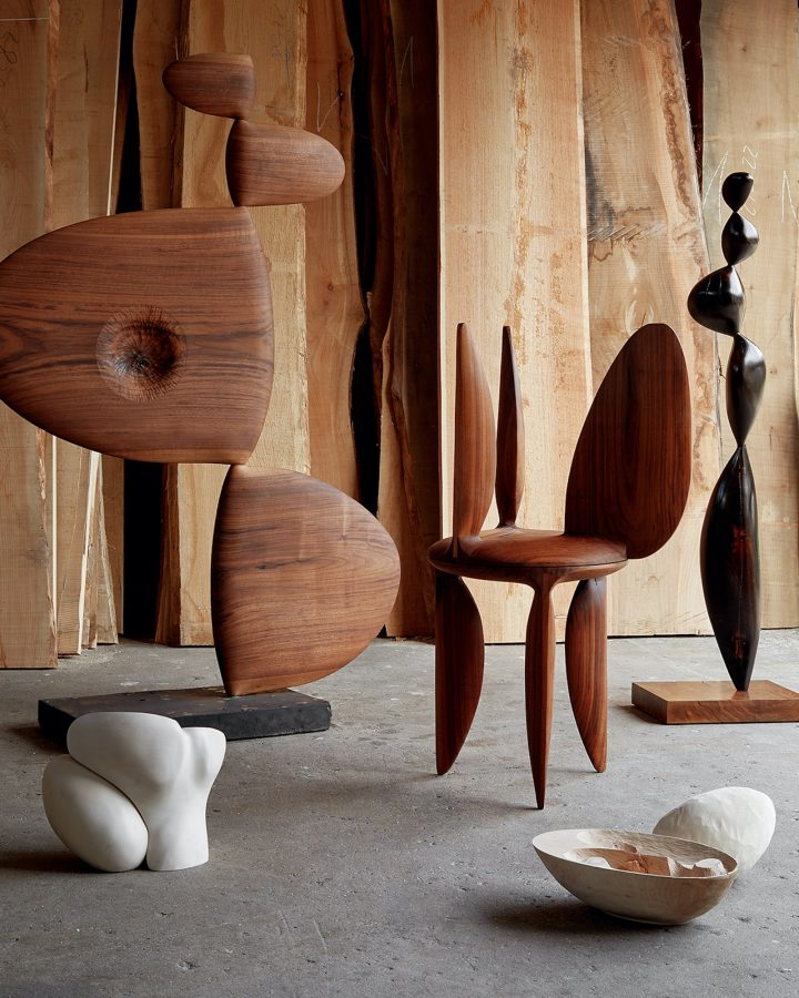 In Conversation With Nicholas Shurey, The Copenhagen-Based Artist Making Sinuous Wooden Objects