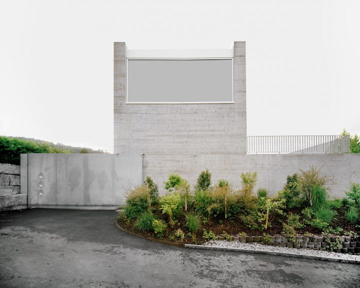 E2A's Concrete Residence House B Offers Total Privacy From Passersby